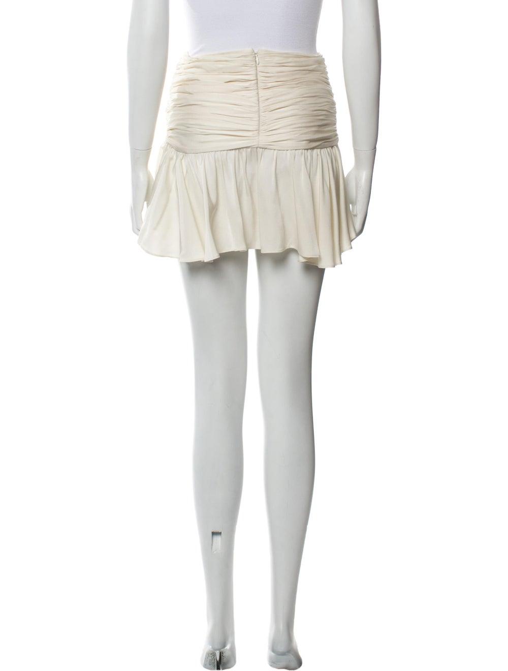 Marissa Webb Silk Mini Skirt - image 3