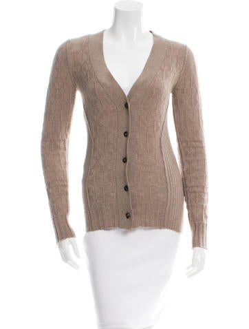 Maiyet Rib Knit Long Sleeve Cardigan None