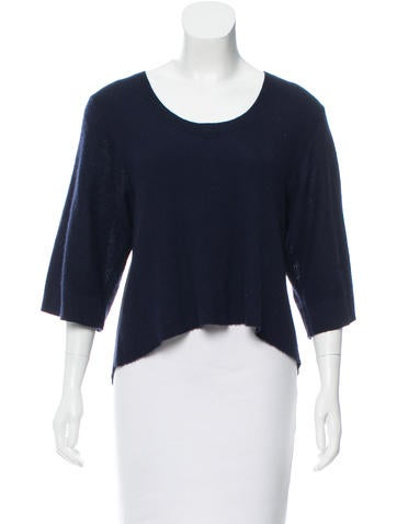 Maiyet Cropped Short Sleeve Sweater None