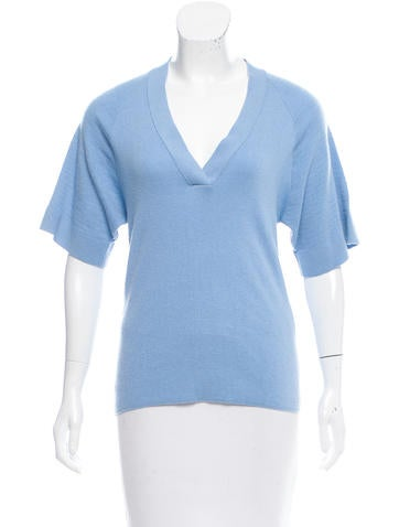 Maiyet Cashmere Short Sleeve Sweater None