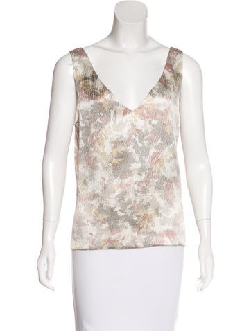 Maiyet Silk Sleeveless Top w/ Tags None
