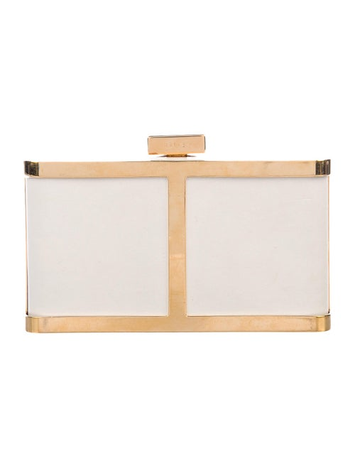 Maiyet Butterfly Box Clutch gold