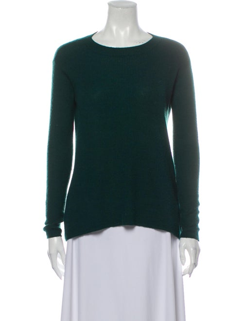 Maiyet Cashmere Scoop Neck Sweater Green