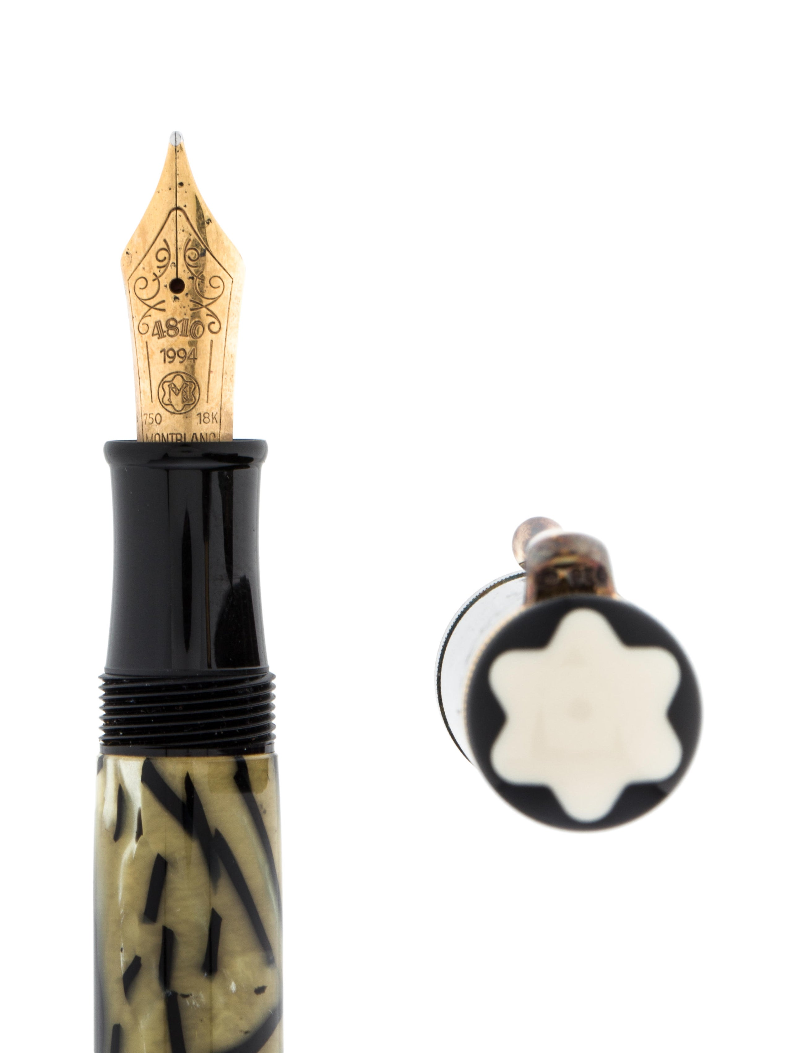 Montblanc meisterst ck oscar wilde fountain pen decor for Art and decoration oscar wilde