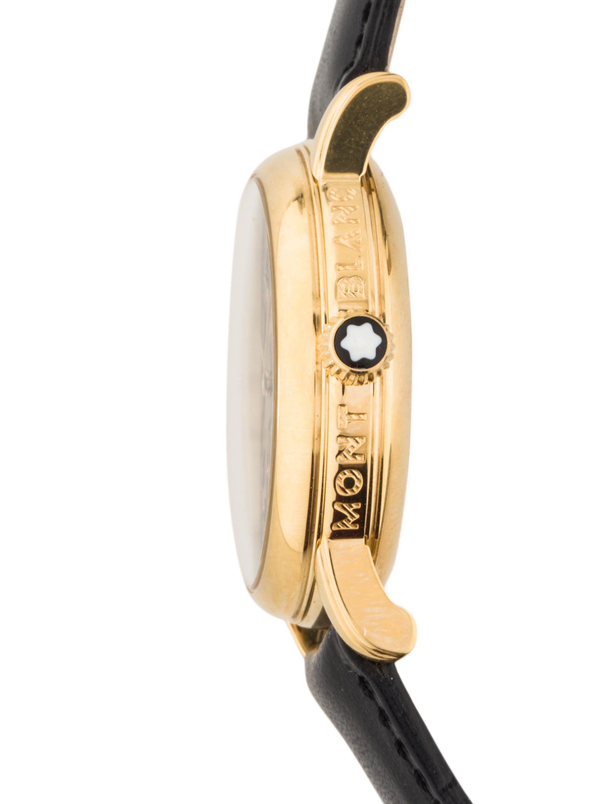 Montblanc Meisterst252ck Star Watch Bracelet MBL21320  : MBL213204enlarged from www.therealreal.com size 1988 x 2624 jpeg 152kB