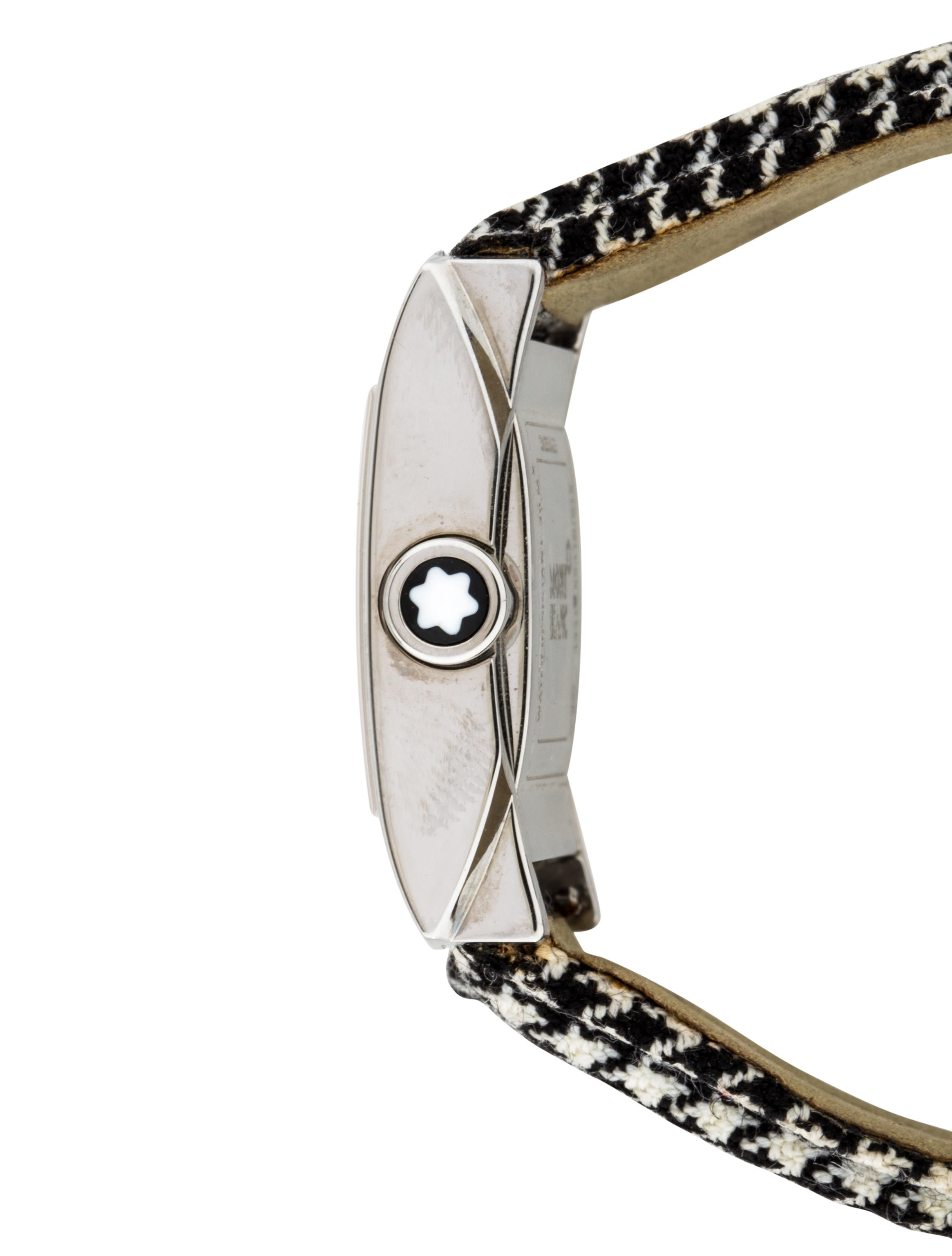 Montblanc Profile Elegance Watch Strap MBL21437 The  : MBL214374enlarged from www.therealreal.com size 2330 x 3074 jpeg 249kB