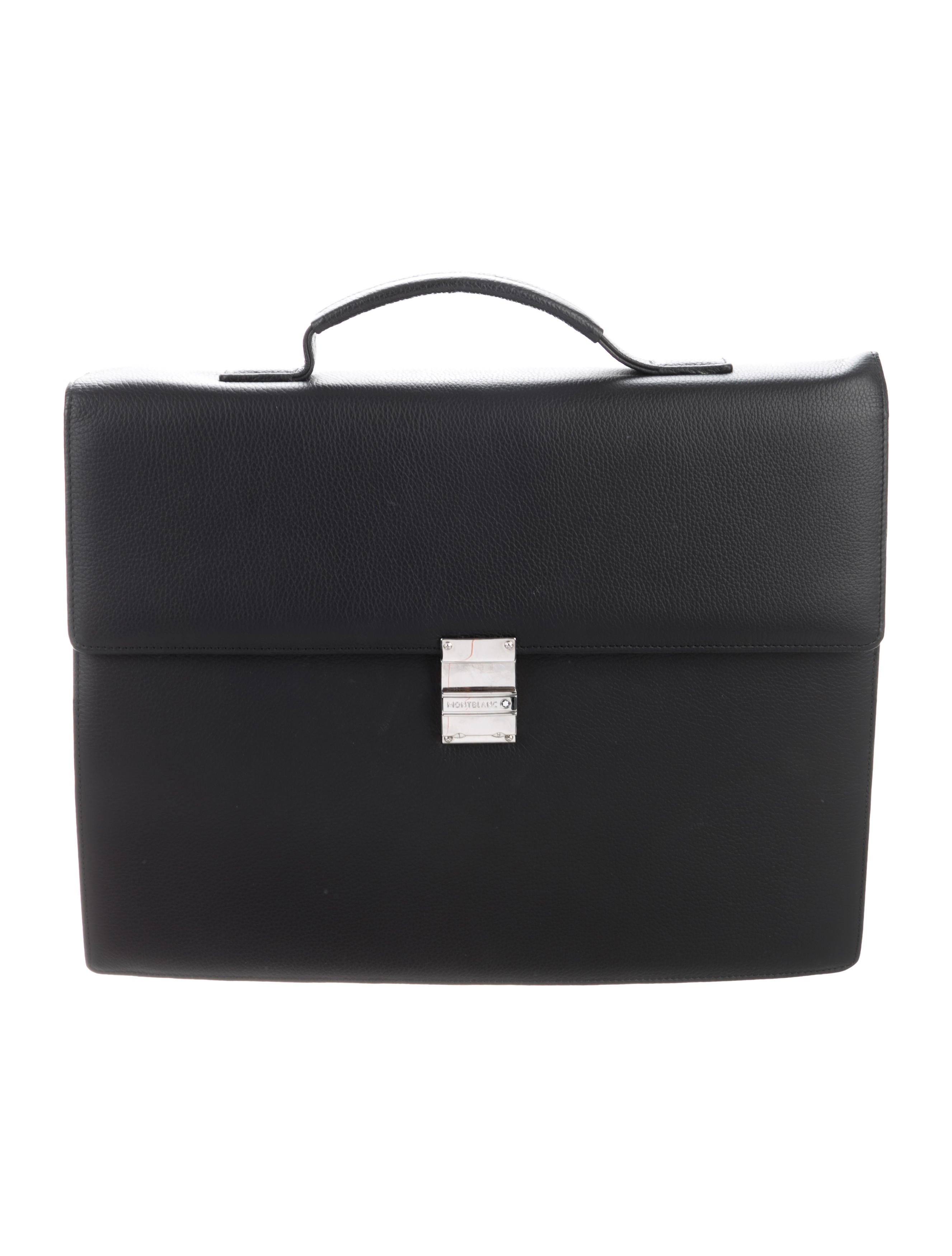 4200ca1c57 Montblanc Meisterstück Leather Briefcase - Bags - MBL23275 | The ...