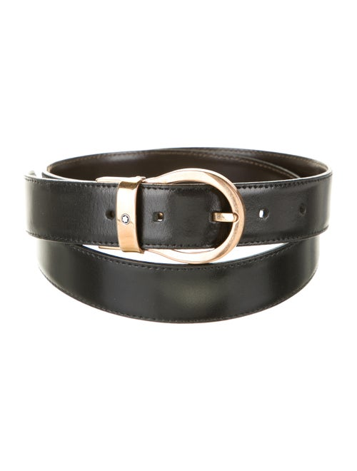 Montblanc Reversible Leather Belt black - image 1