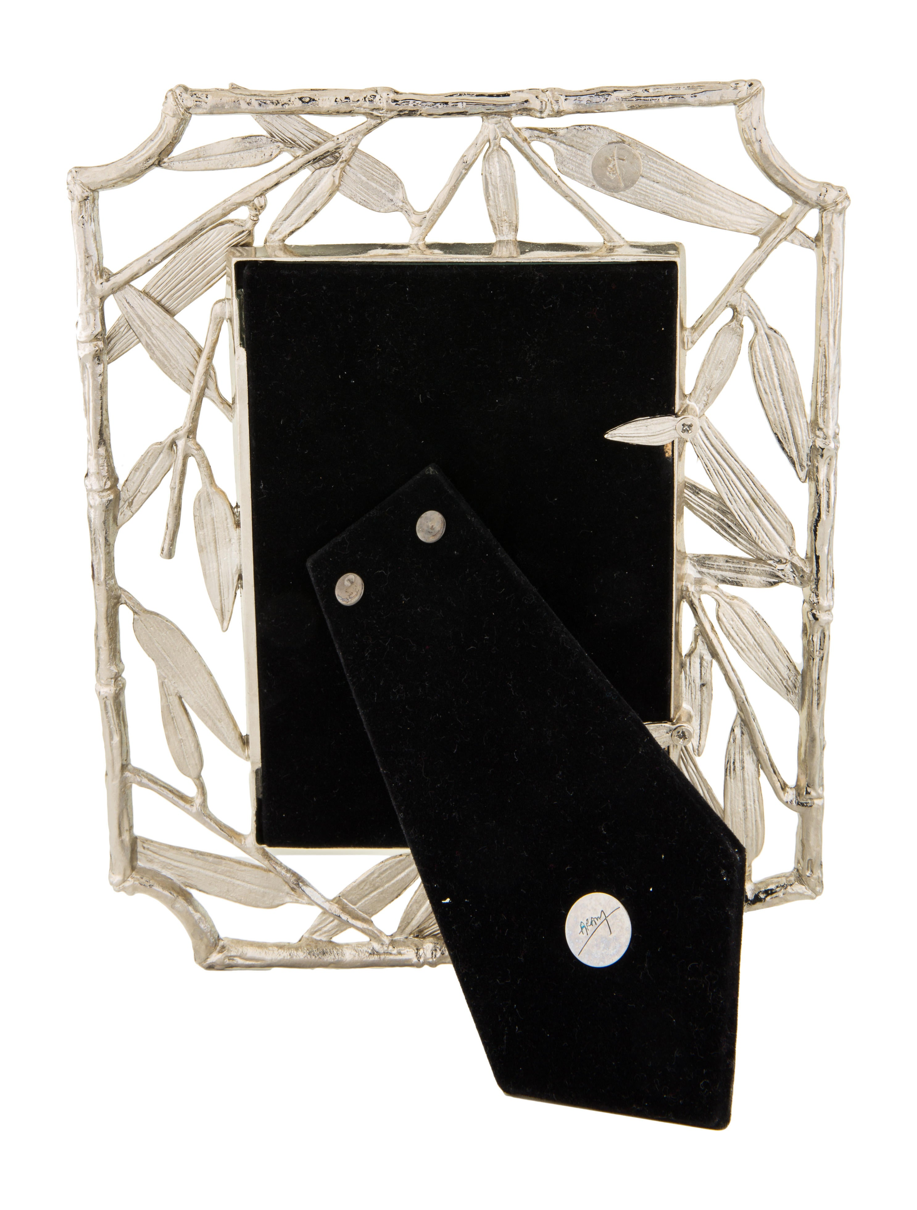 Michael aram bamboo leaf frame decor and accessories for Artistic accents genuine silver decoration