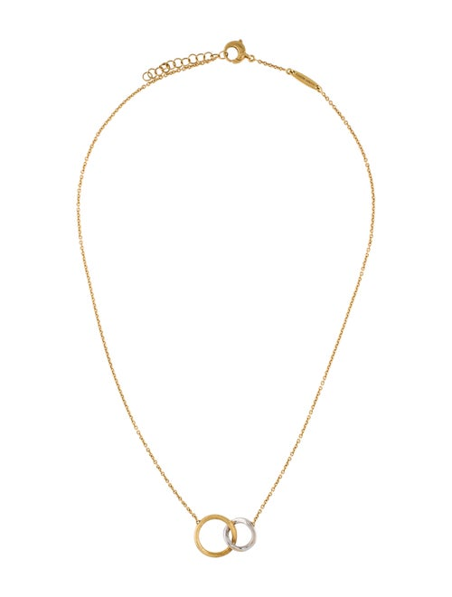 18K Delicati Diamond Jaipur Link Necklace
