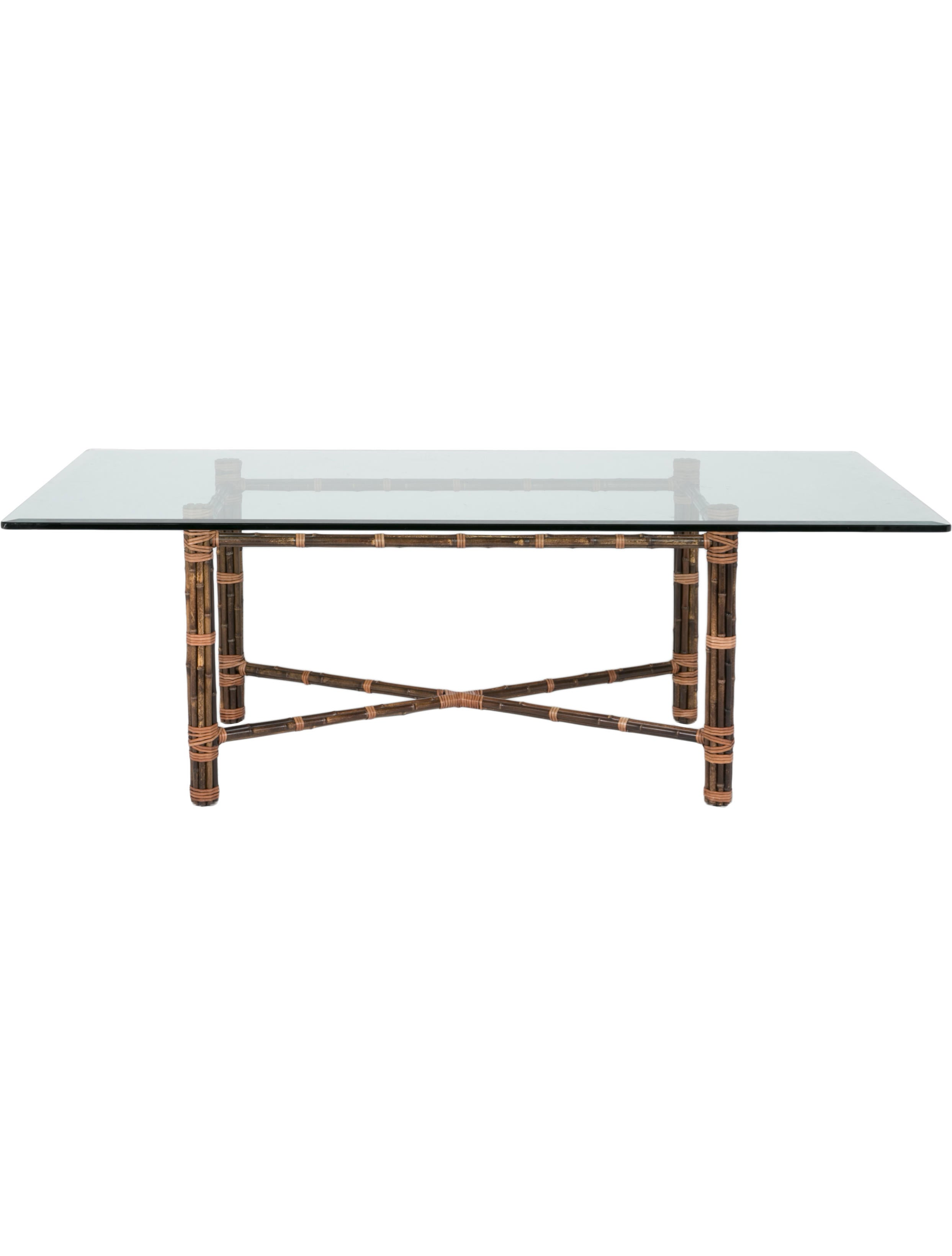 mcguire furniture company. McGuire Furniture Bamboo Dining Table. Table Mcguire Company A