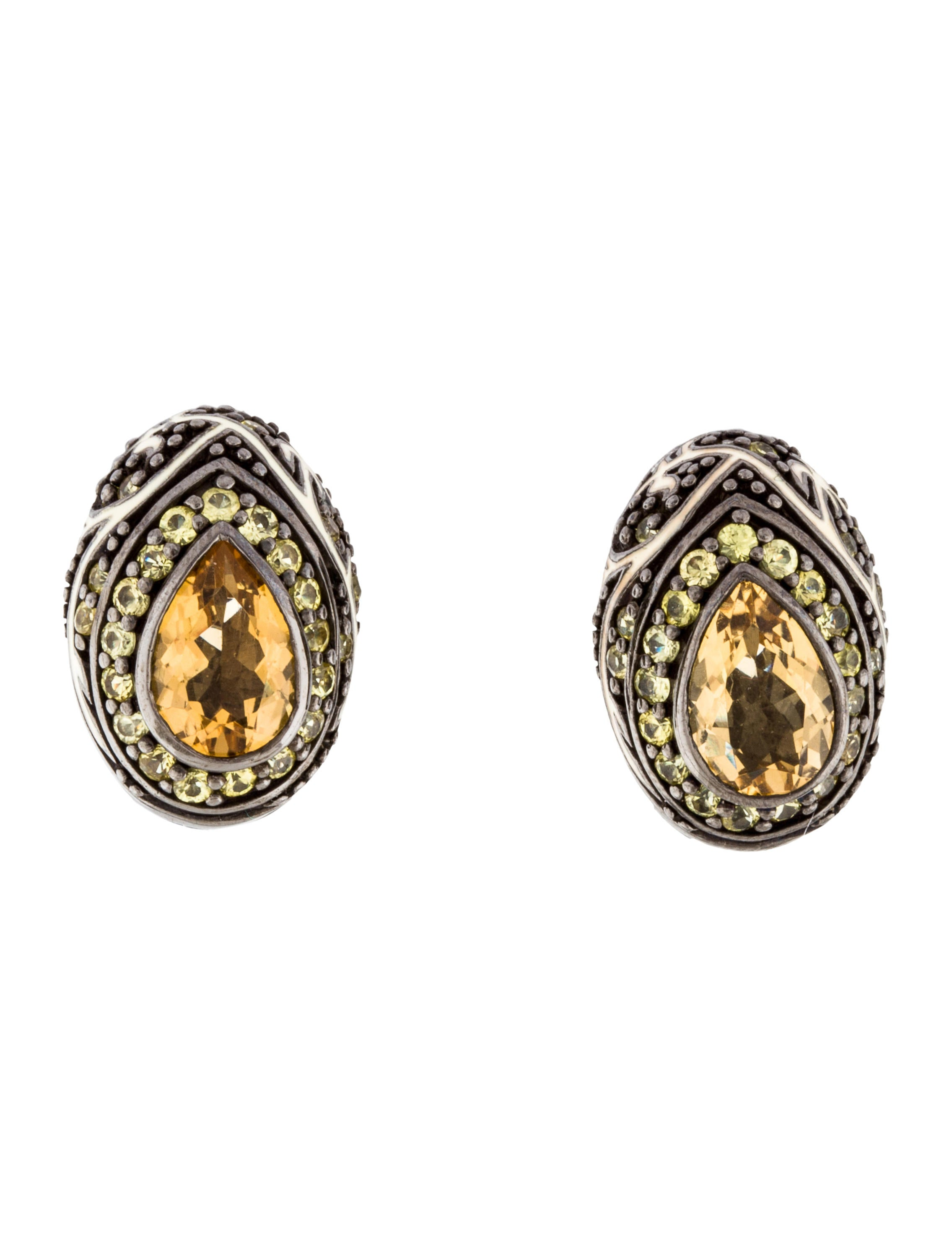 enamel at z id jewelry roberto earrings for j sale coin animelier drop gold diamond rose cobra green