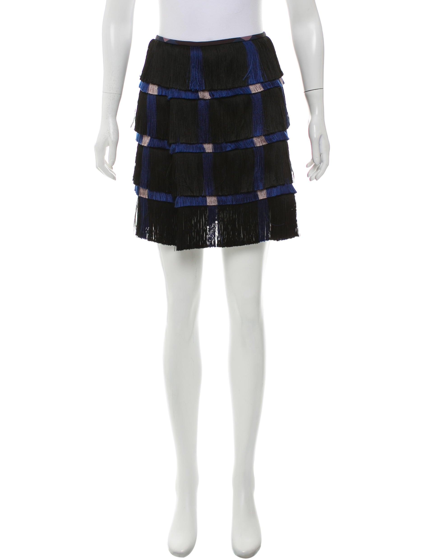 Marco De Vincenzo Fringe Mini Skirt - Clothing - MDV20245 | The RealReal