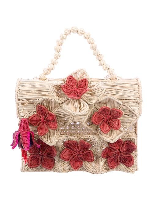 Mercedes Salazar Guacamaya Reina Lunchbox Bag Gold