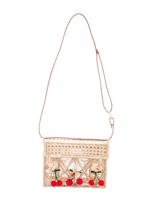 Mercedes Salazar Cherry Orchard Bag Gold