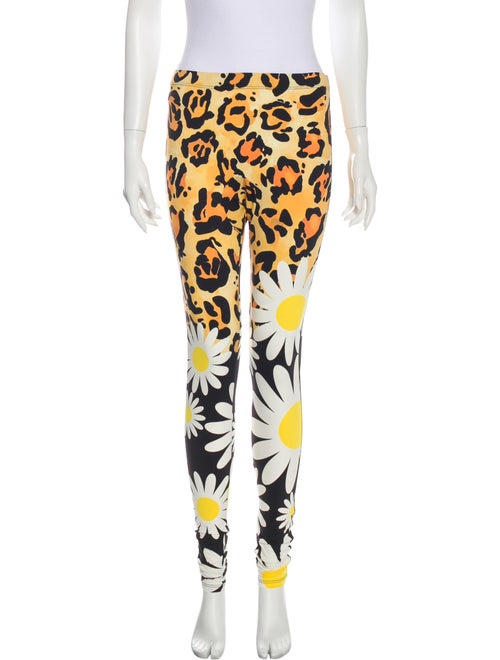 Moncler Genius Animal Print Skinny Leg Pants