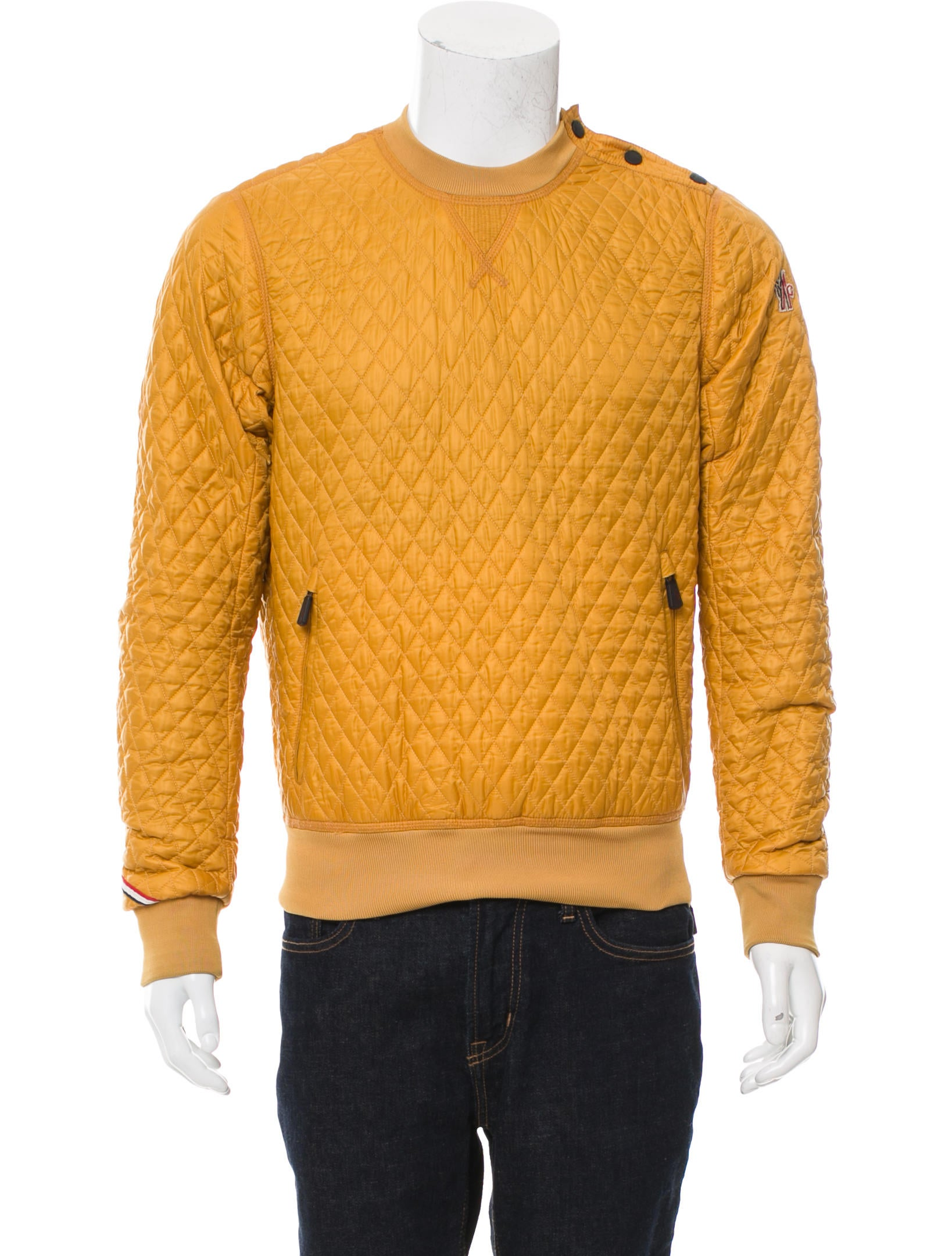 945dedcbf Moncler Grenoble Valmorel Quilted Sweatshirt - Clothing - MGREN20081 ...