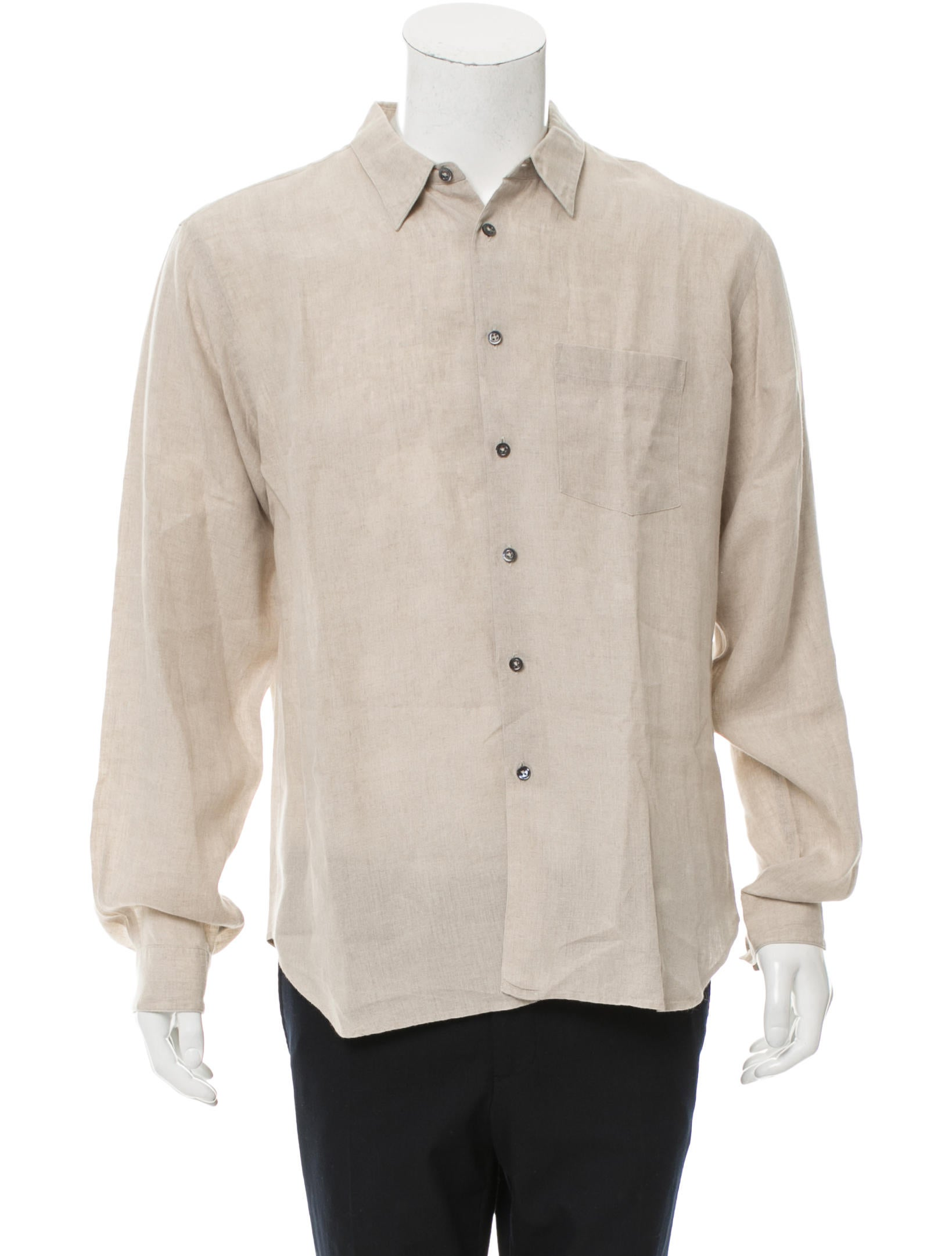 margaret howell linen button up shirt clothing