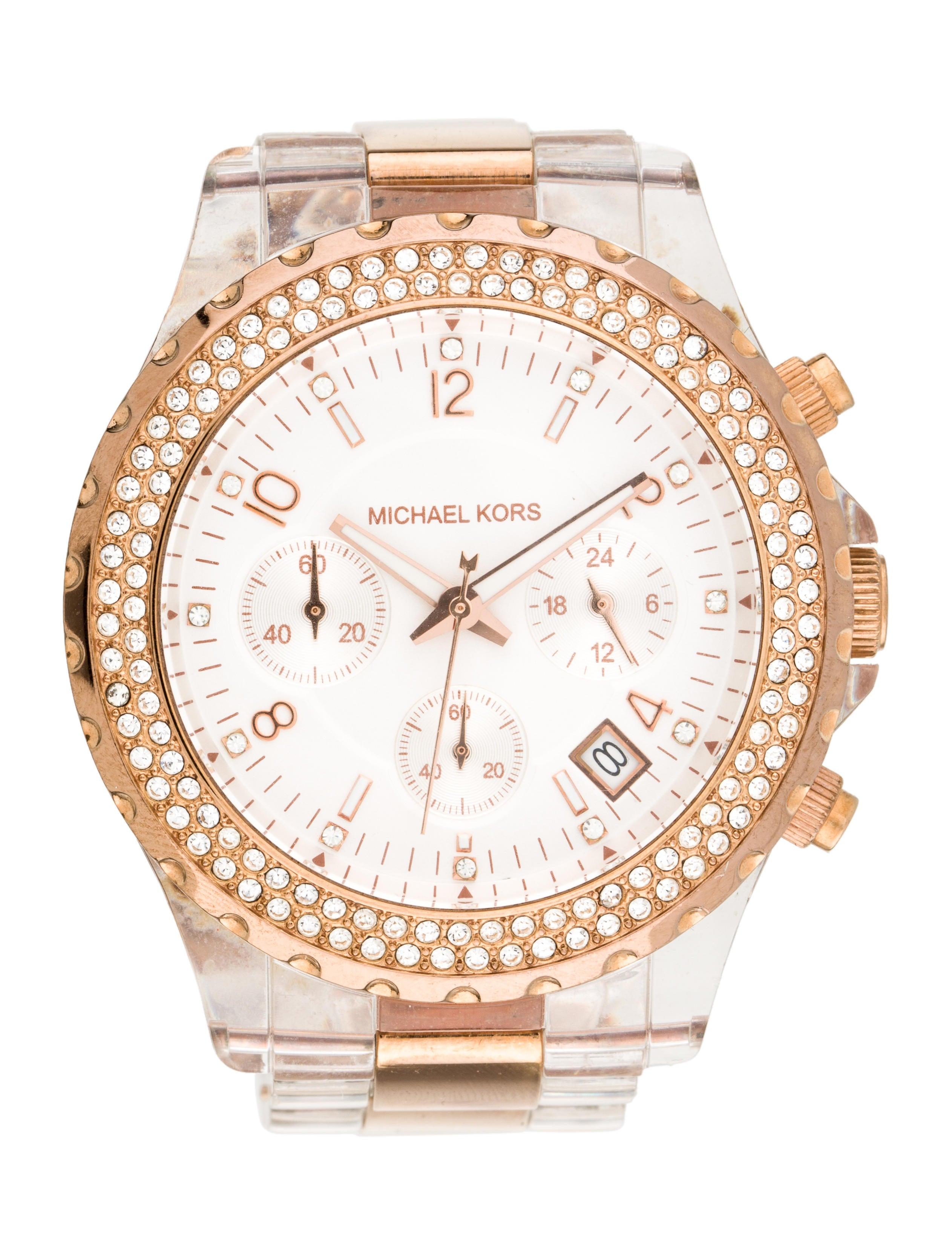 Michael Kors Glitz Madison Watch Bracelet MIC100252