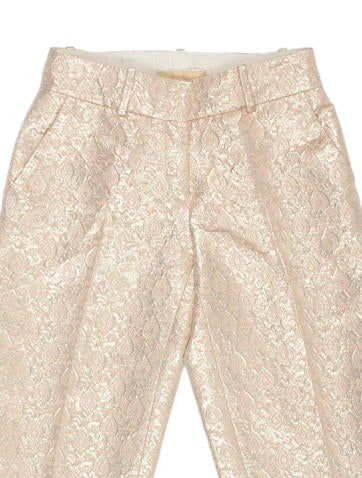 Metallic Brocade Shorts