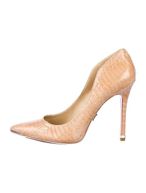 b4445e4df262 Michael Kors Avra Snakeskin Pumps - Shoes - MIC11432