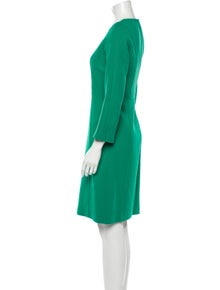 Michael Kors Virgin Wool Knee-Length Dress