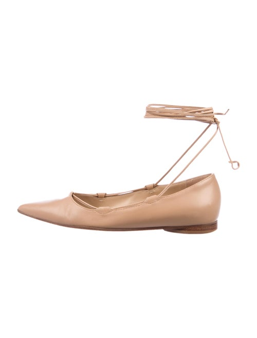 Michael Kors Leather Ballet Flats