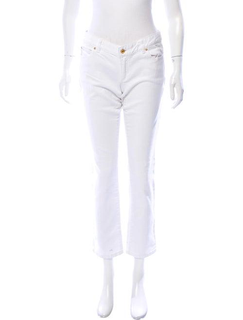 Michael Kors Low-Rise Straight-Leg Jeans