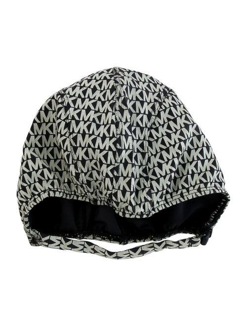 Michael Kors Monogram Swimming Cap Black