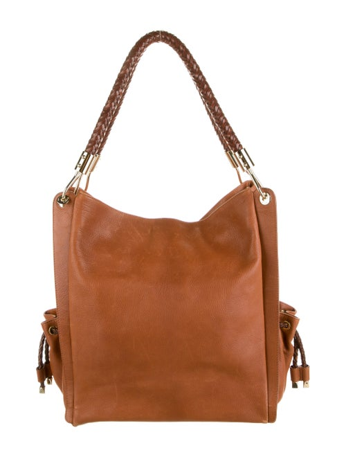 Michael Kors Leather Tote Brown