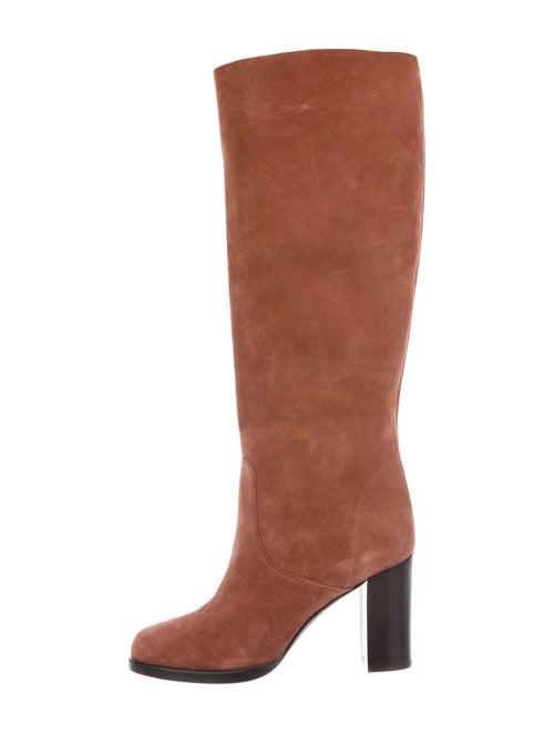 Michael Kors Suede Boots Pink
