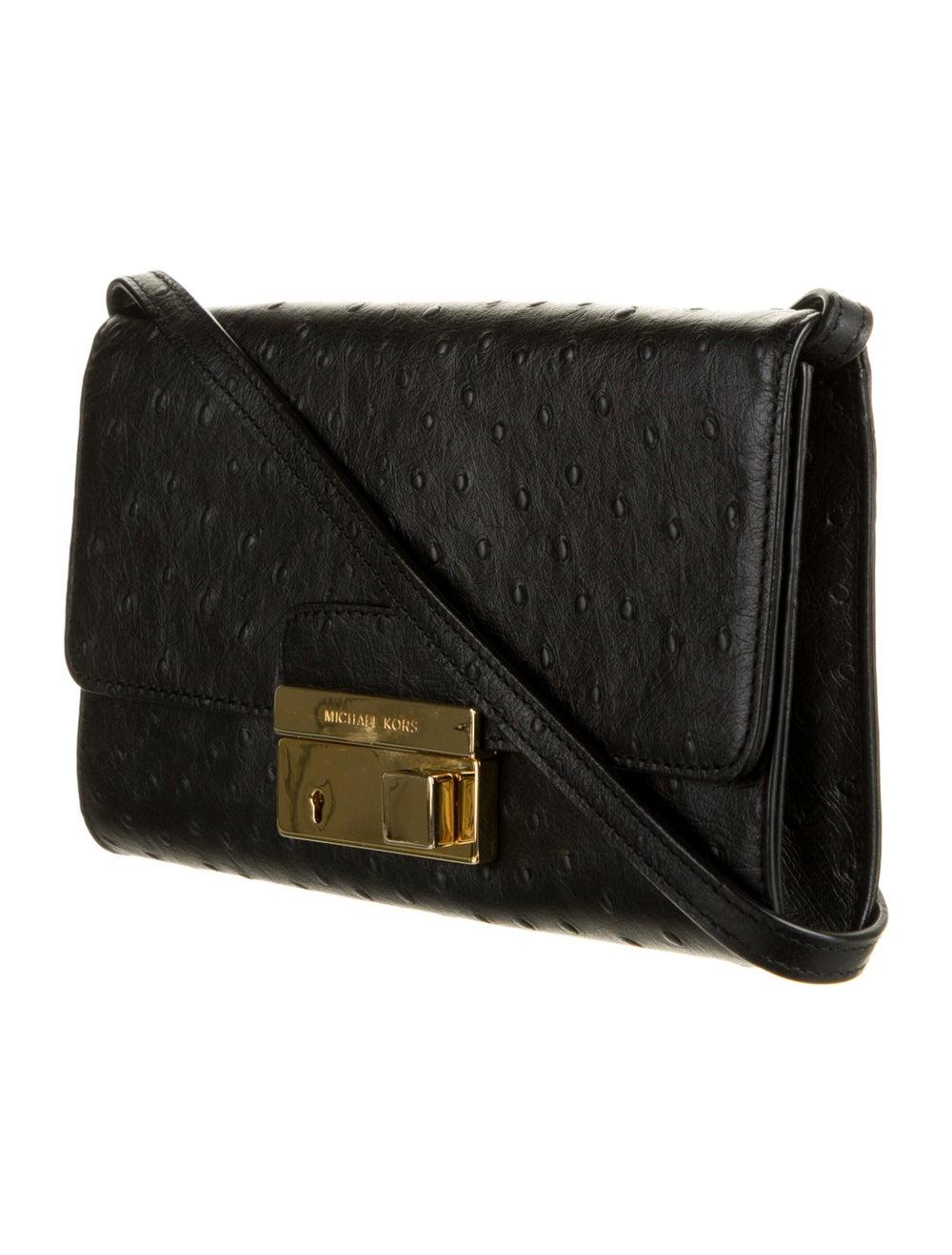 Michael Kors Embossed Leather Bag Black - image 3