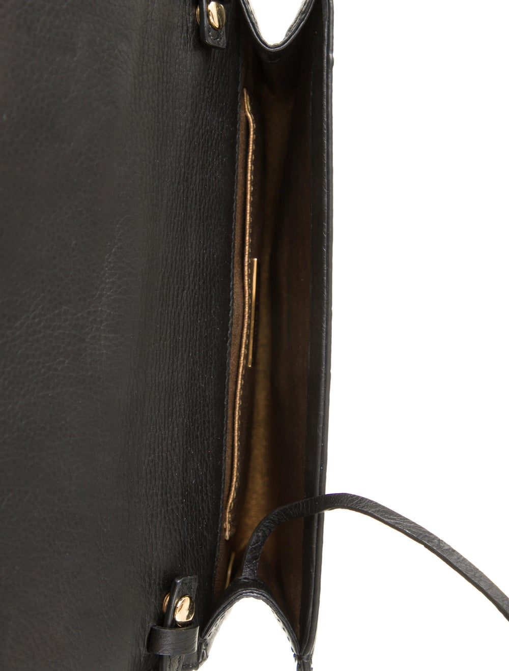 Michael Kors Embossed Leather Bag Black - image 5