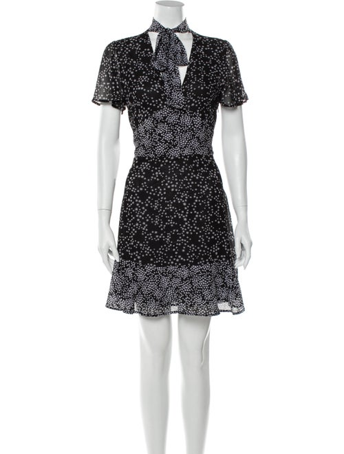 Michael Kors Vintage Mini Dress Black