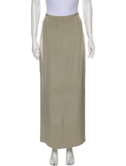 Michael Kors Silk Midi Length Skirt