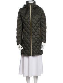 Michael Kors Printed Down Jacket