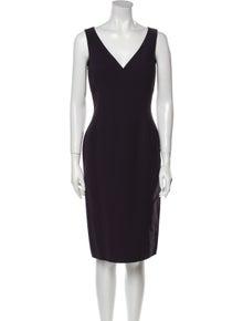 Michael Kors V-Neck Knee-Length Dress w/ Tags