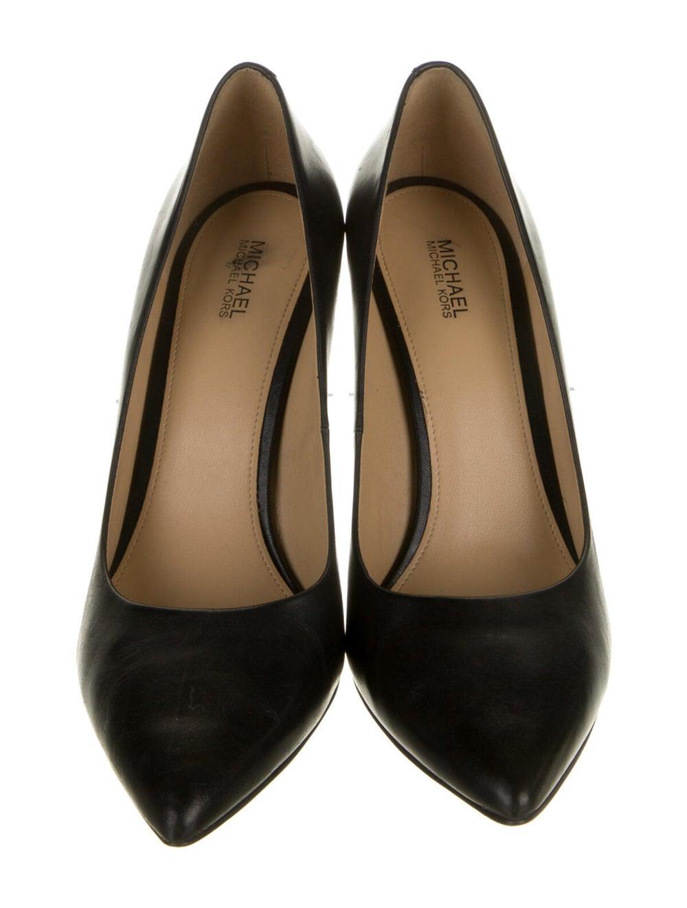 Michael Kors Claire Leather Pumps Black - image 3