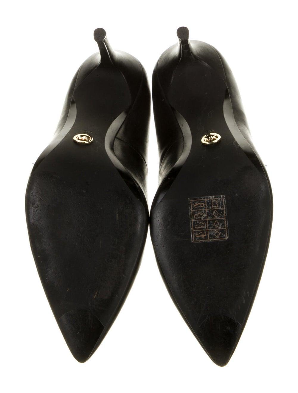 Michael Kors Claire Leather Pumps Black - image 5