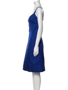 Michael Kors Square Neckline Mini Dress