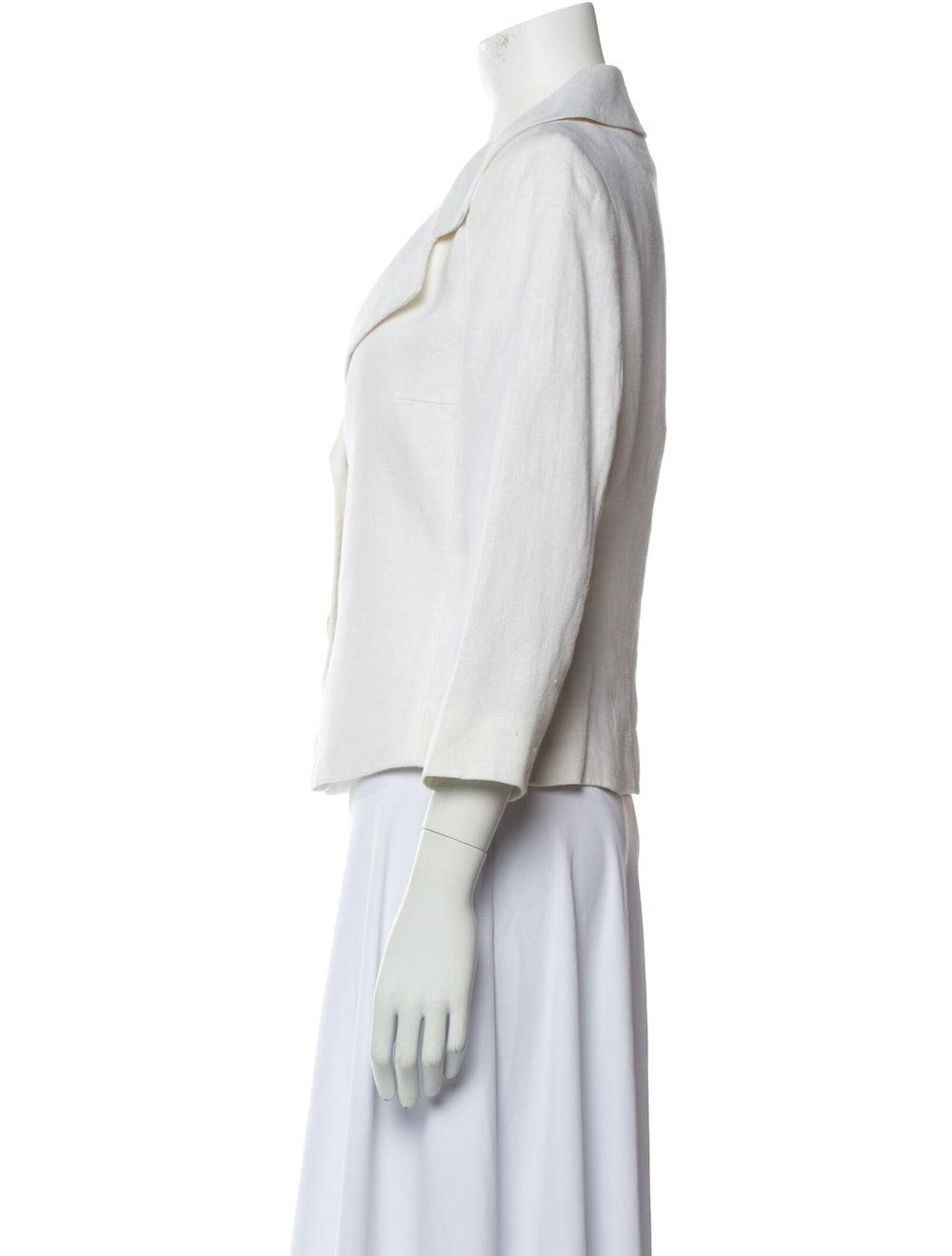 Michael Kors Linen Biker Jacket - image 2