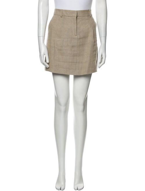 Michael Kors Linen Mini Skirt