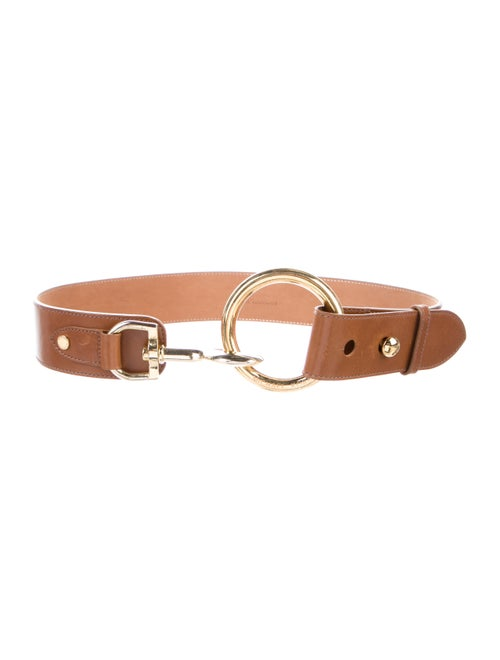 Michael Kors Leather Waist Belt Brown