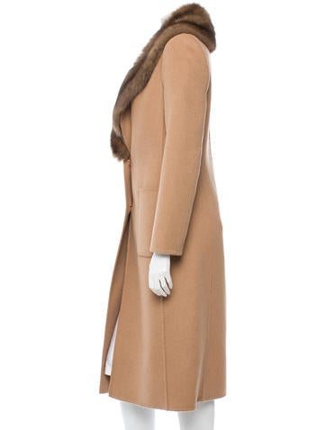 Cashmere and Sable Coat