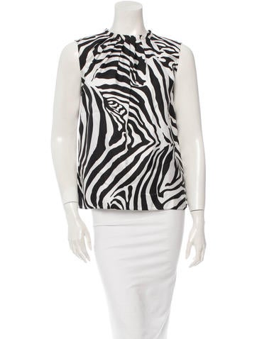 Michael Kors Silk Top None