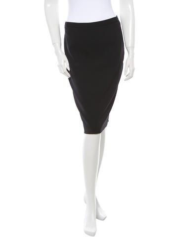 Michael Kors Virgin Wool Skirt