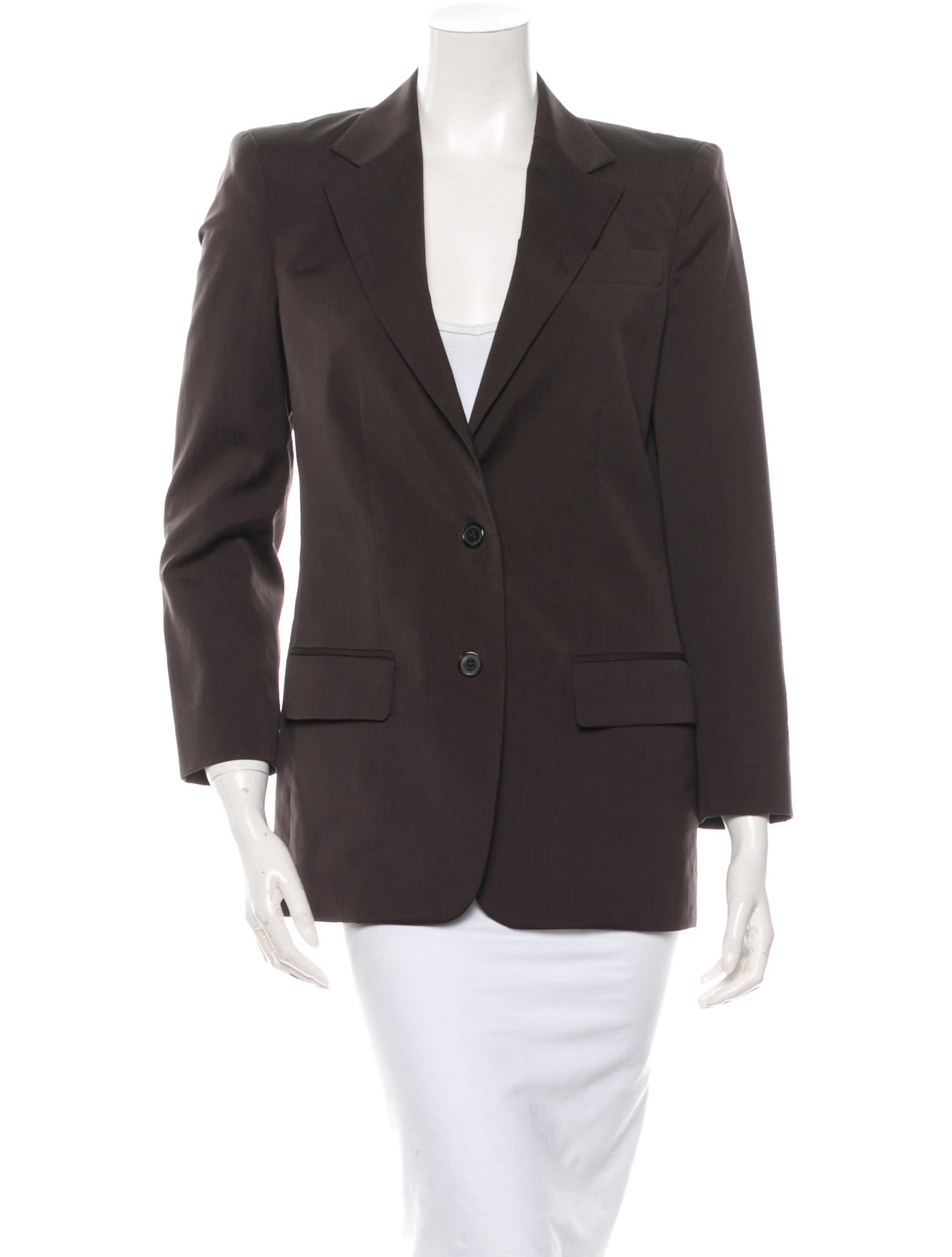 michael kors wool blazer clothing mic29730 the realreal. Black Bedroom Furniture Sets. Home Design Ideas
