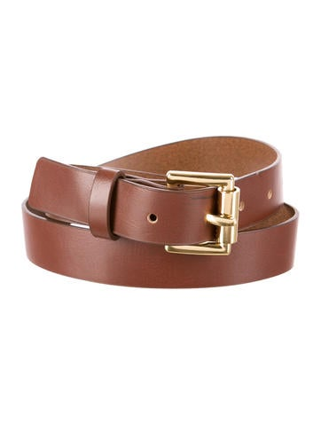 michael kors vegan leather belt accessories mic33821