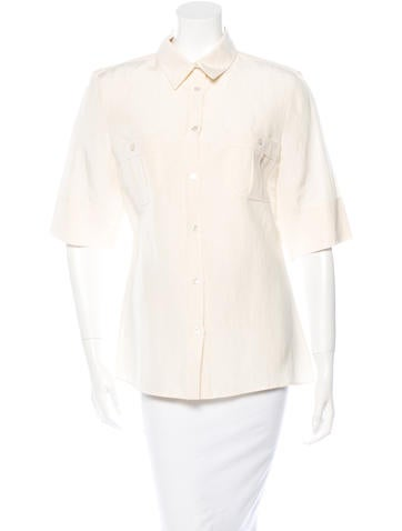 Michael Kors Button-Up Top None