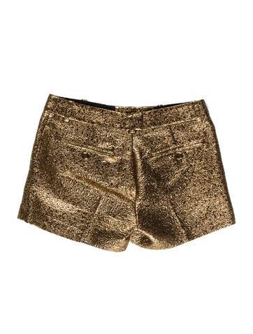 Metallic Mini Shorts
